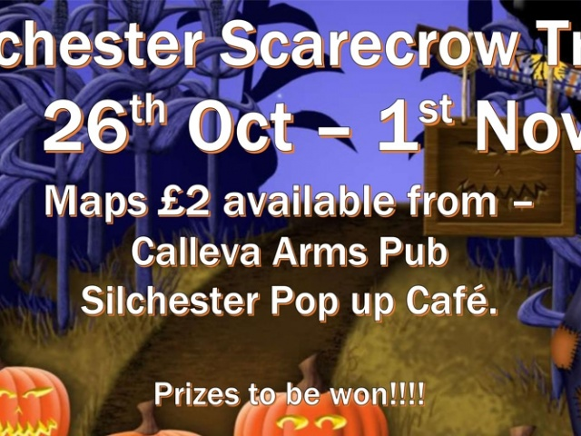 Silchester Scarecrow Trail - October Half Term
