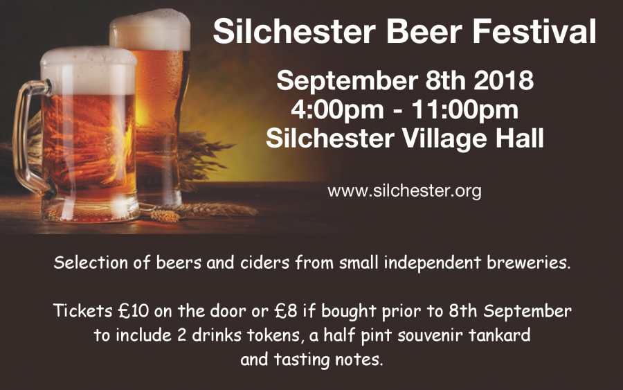 Silchester Association Beer Festival 8th Sep 2018