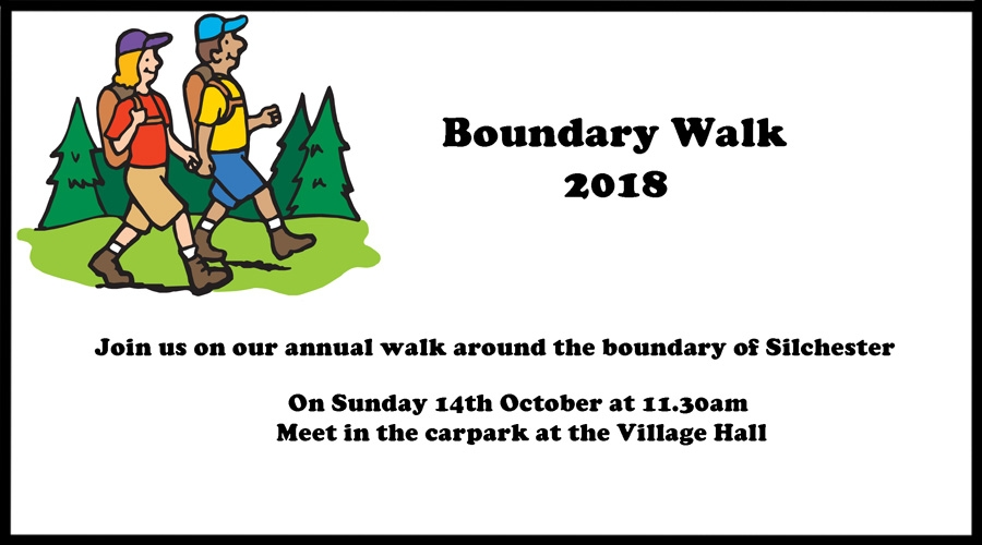 Silchester Boundary Walk - Sunday 14th October 2018